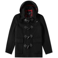 Gloverall Shorty Duffle Coat Black