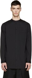 Helmut Lang Black Pocket Tab Shirt