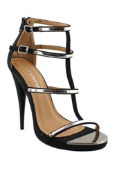 Liliana Riva High Heel Sandal Black