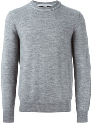 Dondup Crew Neck Sweater Grey