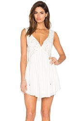 Somedays Lovin Bravery Embellished Dress White