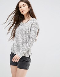 Only Heathered Jumper Grey
