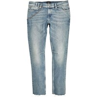 River Island Mens Light Wash Chain Sid Skinny Jeans