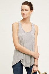 Anthropologie Penned Tank Dark Denim