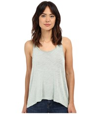 Project Social T Venice Textured Tank Top Frost Green Women's Sleeveless