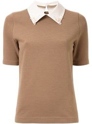 Muveil Classic T Shirt Brown