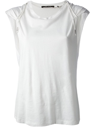 Isabel Marant Loose Fit Tank Top White