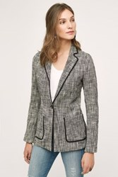 Cartonnier Leonie Knit Blazer Grey