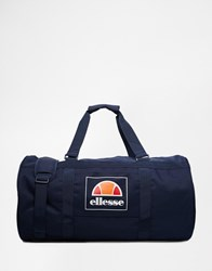 Ellesse Box Logo Duffle Bag Blue