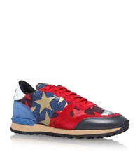 Valentino Star Studded Trainers Female Red