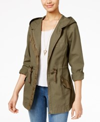 American Rag Hooded Anorak Jacket Only At Macy's Olive