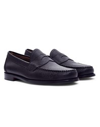 G.H. Bass And Co. Logan Grain Penny Loafer Black