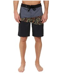 Rip Curl Mirage Wedge Boardshorts Charcoal Men's Swimwear Gray
