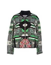 The Textile Rebels Jackets Green