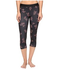 Hurley Dri Fit Crop Leggings Black B Women's Workout