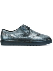 Marsell Marsell Rubber Sole Brogues Blue