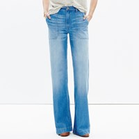 Madewell Wide Leg Jeans In Shea Wash