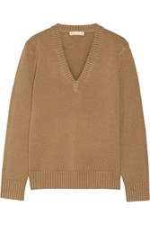 Michael Kors Collection Cashmere Sweater Camel