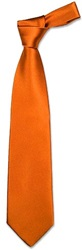Forzieri Solid Copper Extra Long Tie