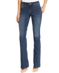 Style And Co. Curvy Fit Modern Bootcut Jeans Marine Wash