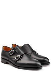 Ludwig Reiter Buckled Leather Shoes Black