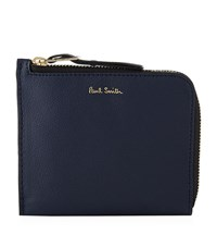Paul Smith Accessories Zip Around Coin Wallet Unisex Navy