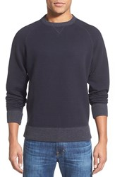 Men's Billy Reid Quilted Crewneck Sweatshirt