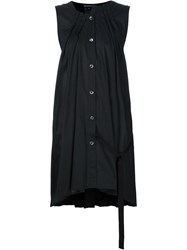 Ann Demeulemeester Loose Fit Sleeveless Shirt Black