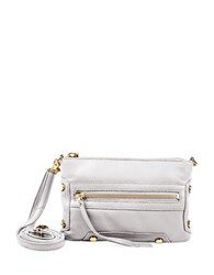 Linea Pelle Walker Leather Crossbody Bone