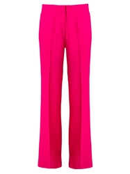 Andrea Marques Wide Leg Trousers Pink And Purple
