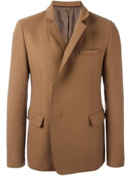 Wooyoungmi Buttoned Blazer Jacket Brown