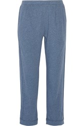 Skin Shania Pima Cotton Jersey Pajama Pants Blue