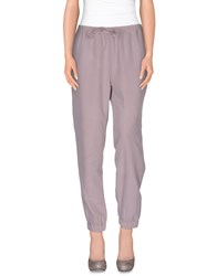 Stefanel Trousers Casual Trousers Women Dove Grey