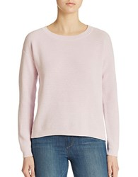 Lord And Taylor Combed Cotton Pullover Misty Lilac