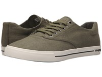 Seavees 08 63 Hermosa Plimsoll Standard Palm Green Men's Shoes Olive