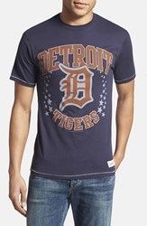 Men's Mitchell And Ness 'Detroit Tigers Shooting Stars' Tailored Fit Graphic T Shirt