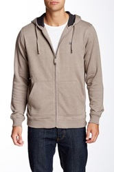 Quiksilver Waterman Collection Campbell Beach Hooded Jacket Beige