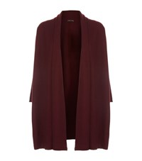 Eileen Fisher Cashmere Long Cardigan Female Red