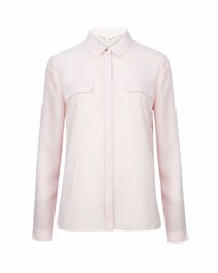 Ted Baker Caresse Chain Detail Shirt Pink