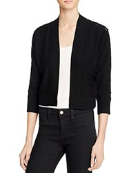 Magaschoni Basic Cashmere Cardigan Black
