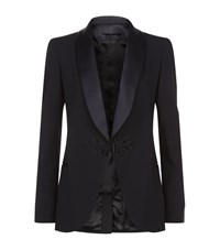Elie Saab Shawl Lapel Tuxedo Jacket Female Black