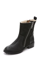 Dolce Vita Kincaid Shearling Lined Booties Black