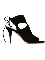 Aquazzura 'Sexy Thing' Sandals Black