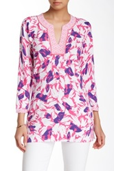 J. Mclaughlin Evelyn Printed Tunic Purple
