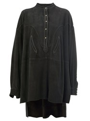 Faith Connexion Oversized Shirt Dress Black