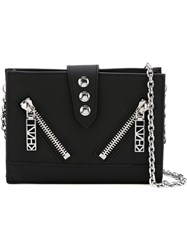 Kenzo 'Kalifornia' Chain Wallet Black