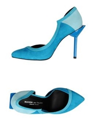 Master And Muse X Maison Des Talons Pumps Azure