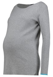 Gap Jumper Grey Heather Light Grey
