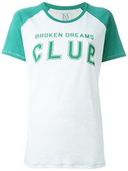 Zoe Karssen 'Broken Dreams' T Shirt White