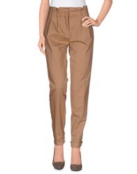 Max And Co. Trousers Casual Trousers Women Camel